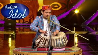 Pawandeep Rajan Amazing Tabla Performance   Kisi Nazar Ko Tera   Bappi Lahiri special    Studio HD