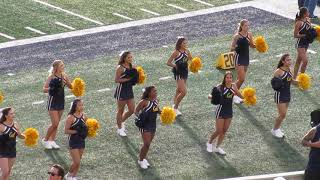 California Cheerleaders @ Cal vs. Idaho State Football 2018 Memorial Stadium Berkeley California