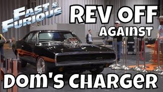 """I Challenged """"Dom's Charger"""" from Fast & Furious To a REV OFF Battle!"""