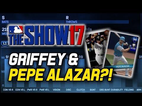 IMPACT VETERAN GRIFFEY & 99 OVR PEPE ALAZAR?! MLB The Show 17 Diamond Dynasty Update (5-19-17)