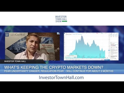 What is Keeping Cryptocurrency Markets Down? - David Drake, LDJ Capital