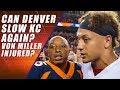Denver Broncos vs Kansas City Chiefs: Sunday Football