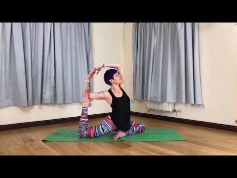 How To Do Mermaid Pose Yoga Tutorial
