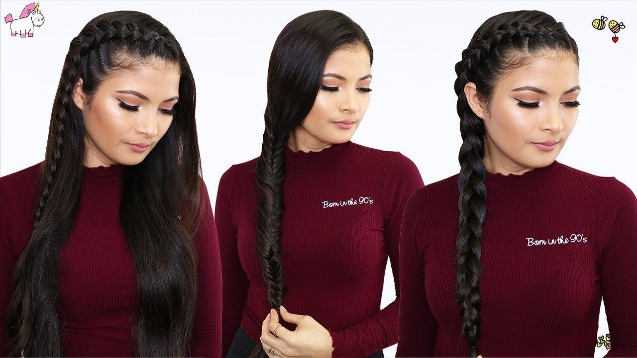 Peinados Con Trenzas Para Cabello Largo Faciles Y Rapidos Bessy