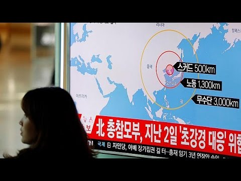 North Korea test fires four more missiles