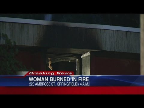 Woman badly burned in Spfld. house fire
