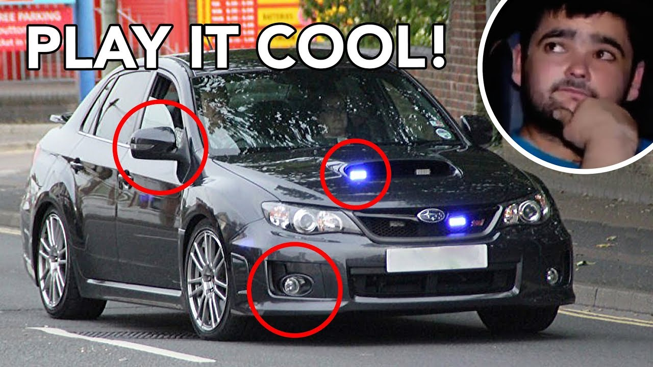 How to spot unmarked UK Police Cars! - YouTube