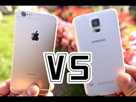 iPhone 6 VS Samsung Galaxy S5 - Full Comparison