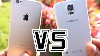 iphone 6 vs samsung galaxy s5 full comparison
