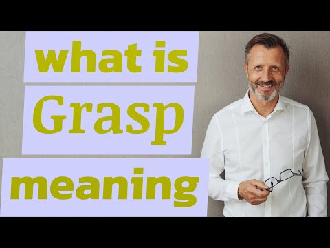 Grasp   Meaning of grasp