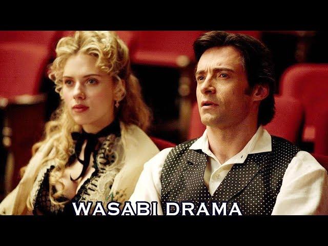 【哇薩比抓馬】走神一秒就看不懂的燒腦神作,寡姐演花瓶分散注意力,諾蘭才是真正的魔術師《致命魔術》Wasabi Drama
