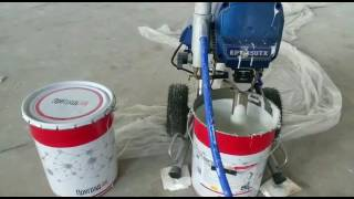 HYVST EPT 450 TX Огнезащита металлоконструкций безвоздушным краскопультом(, 2017-07-22T15:10:14.000Z)