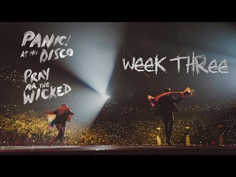 Panic! At The Disco - Pray For The Wicked Tour (Week 3 Recap)