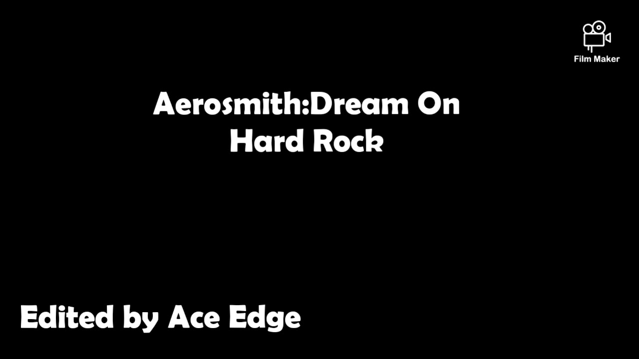 Aerosmith Dream On Lyrics Youtube