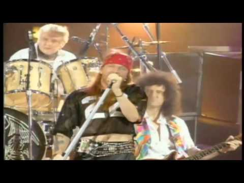 Queen -  Elton John And Axl Rose   Bohemian Rhapsody