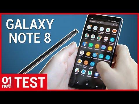 Test Samsung Galaxy Note 8 : peut-il consoler les orphelins du Note 7 ?