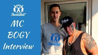 MC Bogy Interview 2018 (Teil 1 - Über Jugend, Drogen, Beziehung zur Mutter)