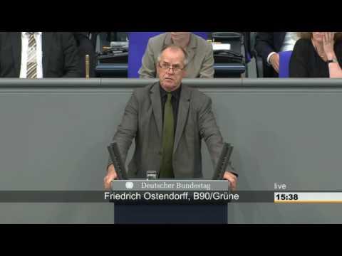 Aktuelle Stunde: Friedrich Ostendorff zu Leid in Tierställen