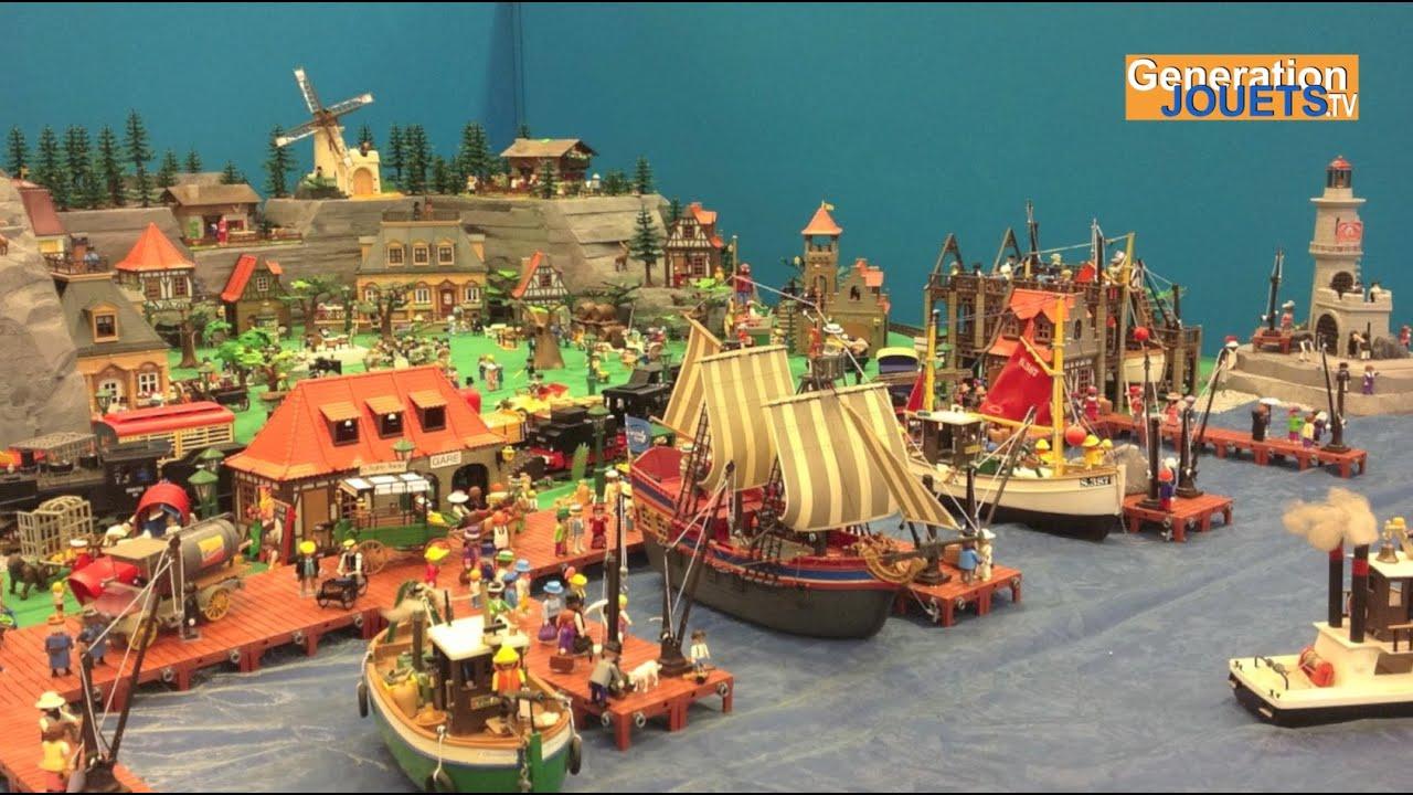 Playmobil diorama  Kidexpo 2014  YouTube