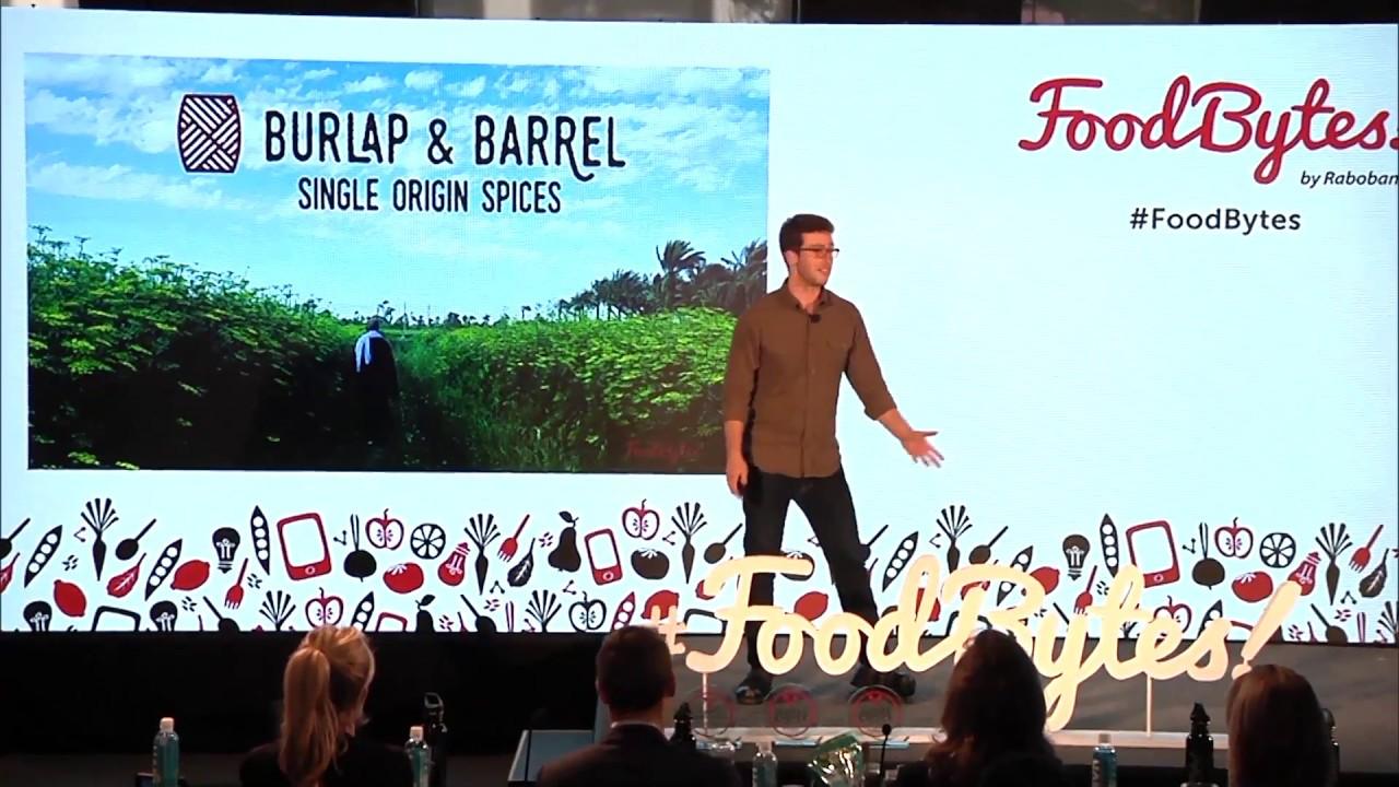 Download Burlap & Barrel Pitch at FoodBytes! NYC 2017