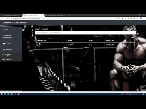 GYMS MANAGEMENT SYSTEM IN PHP | Source Code & Projects