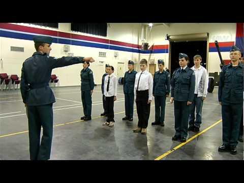 Air Cadet Training - Shaw TV Nanaimo