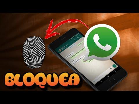 Bloquea WHATSAPP Con HUELLA DACTILAR Sin Instalar Nada...!!!