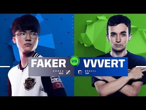 Faker vs. VVvert | 1v1 Tournament | 2017 All-Star Event