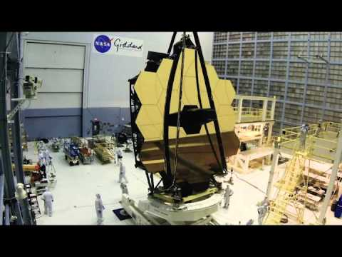 Time-lapse: James Webb Space Telescope Mirror Rollover