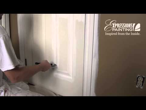 how to paint a door like a pro. Black Bedroom Furniture Sets. Home Design Ideas