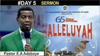 Pastor E.A Adeboye Sermon @ RCCG August 2017 HOLY GHOST CONVENTION SERVICE #Day 5