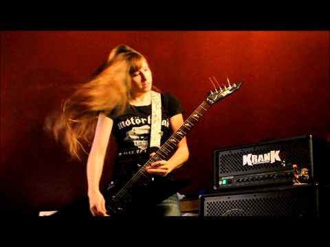 Iron Maiden The Trooper Guitar Cover