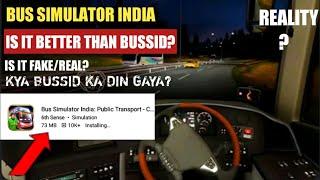 BUS SIMULATOR INDIA:People Tran..(Early Access)REVIEW CAN IT REPLACE BUSSID? KYA BUSSID KA DIN GAYA?