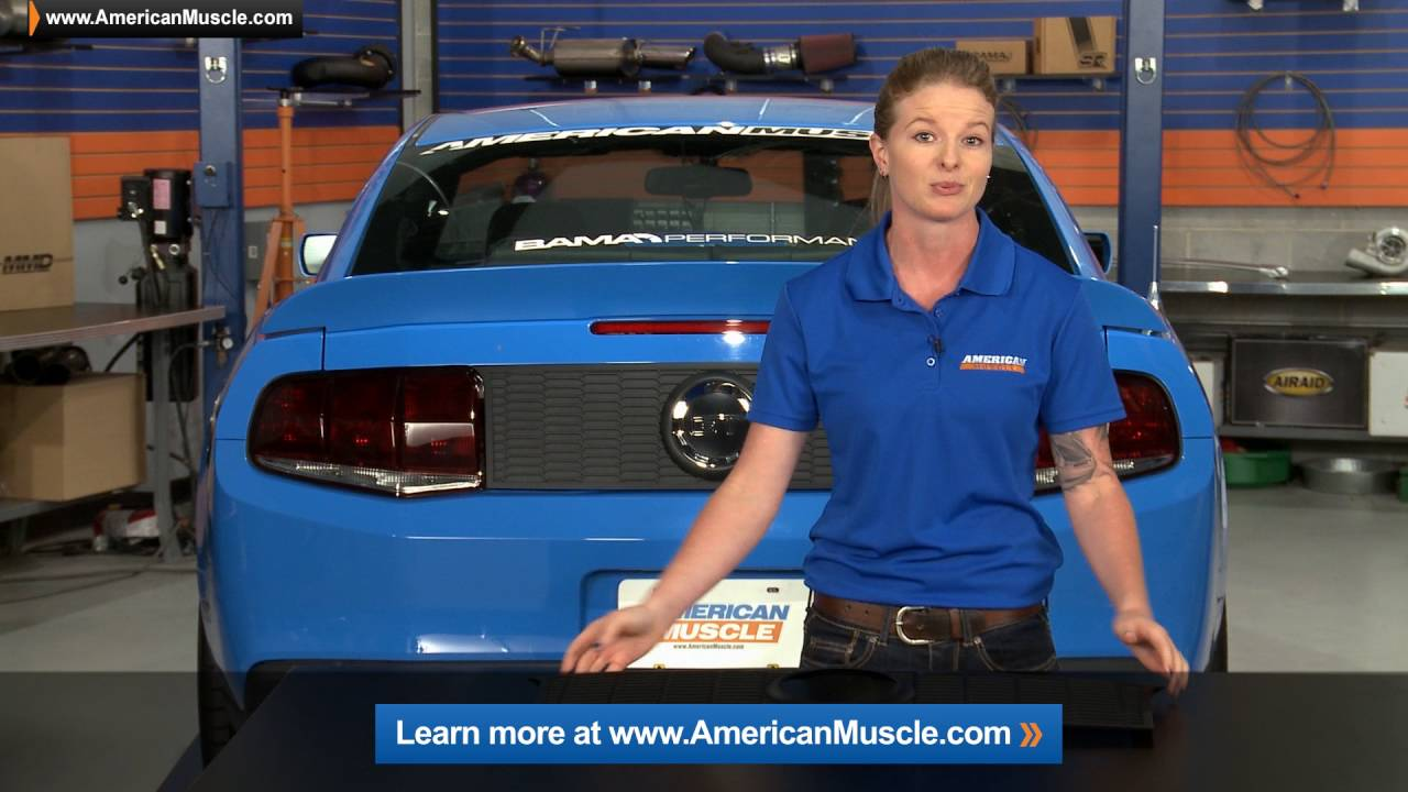 2010-2012 All) Mustang MMD Honeycomb Decklid Panel Review & Install ...