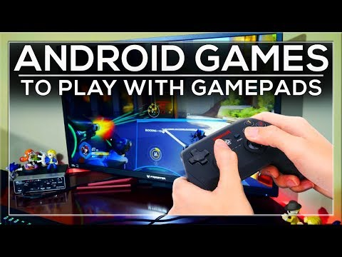 BEST ANDROID GAMES FOR GAMEPADS ON YOUR ANDROID TV BOX 🎮