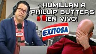 Humillan a Phillip Butters ¡En Vivo! Por hablar mal de Chile   [Peruano lo deja en su lugar]