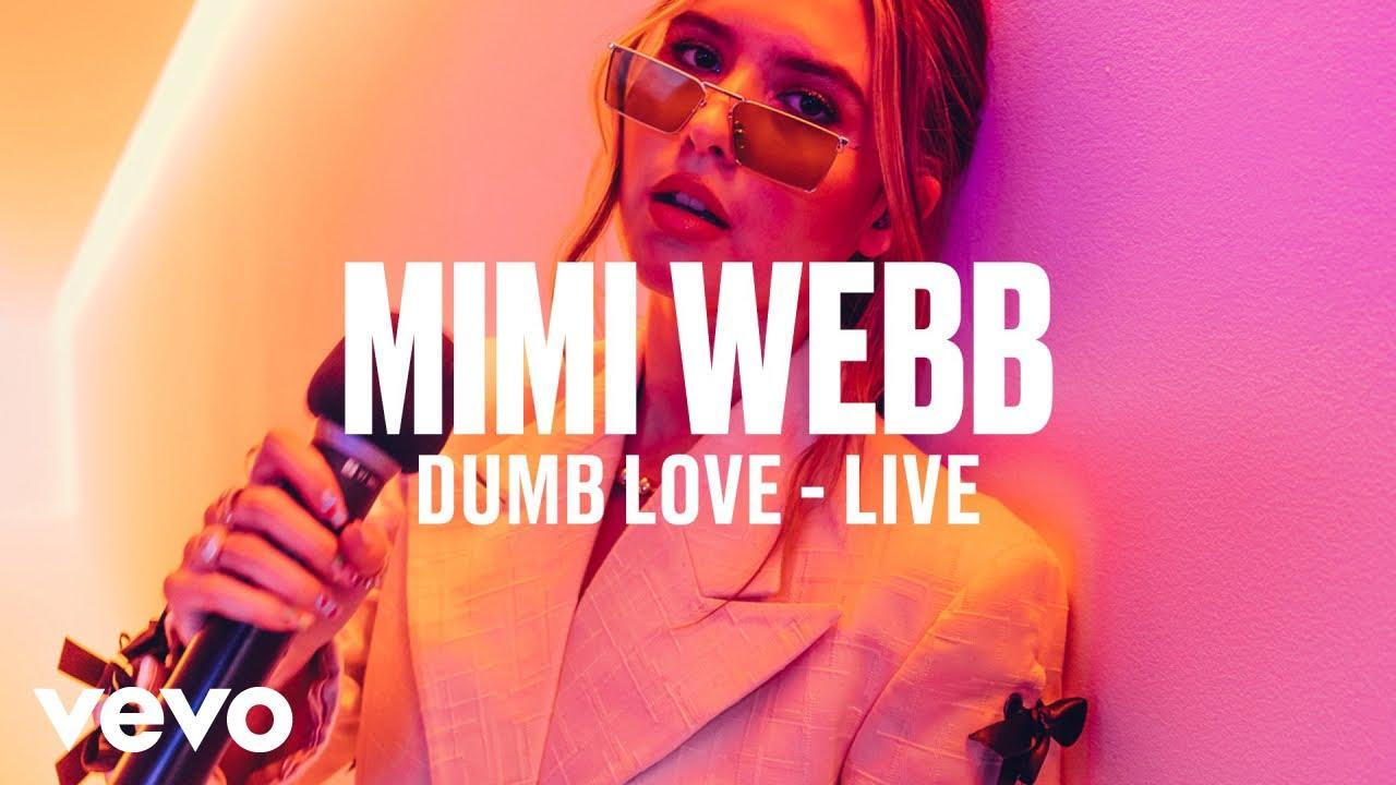 Mimi Webb - Dumb Love (Live) | Vevo DSCVR