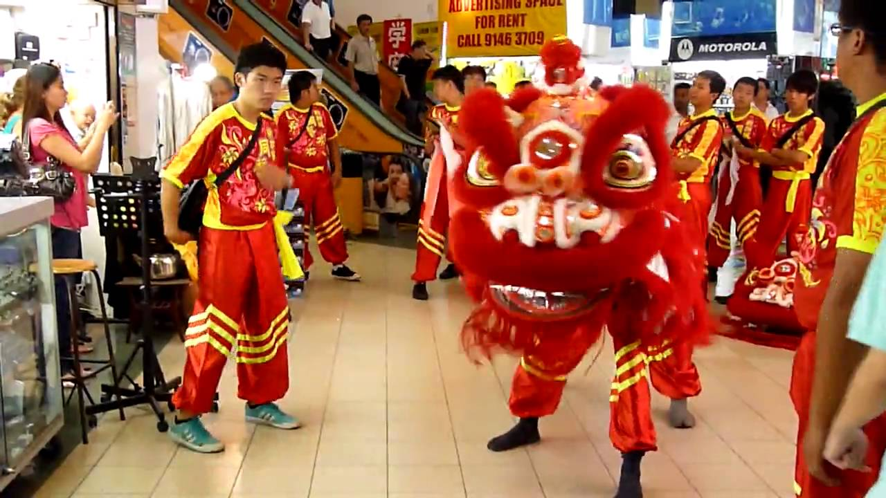 Uncategorized Chinese New Year Dance chinese new year lion dance in singapore youtube