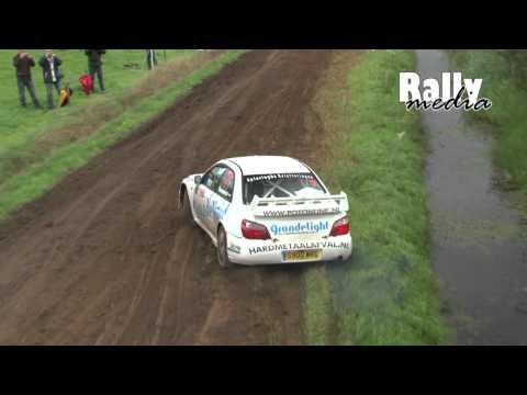 Subaru Impreza WRC S9, Very Muddy, Jeroen Swaanen, Hellendoorn Rally 2010