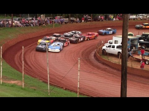 Winder Barrow Speedway Modified Street Feature Race 7/30/16