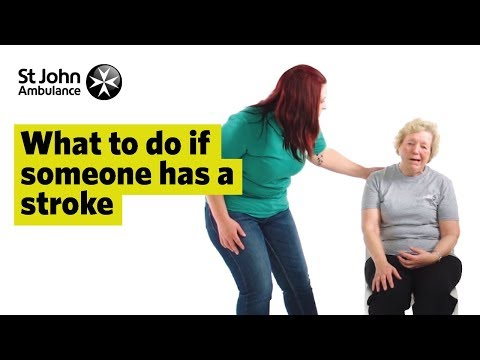 What To Do If Someone Has A Stroke, Signs & Symptoms - First Aid Training - St John Ambulance