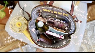 What's in my bag 2020 | Everyday Essentials | TheBrownSatchel