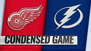 10/18/18 Condensed Game: Red Wings @ Lightning
