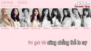 [Karaoke Việt] DIVINE - SNSD