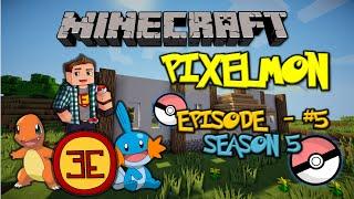 Minecraft: Pixelmon - Эпизод 5 - Начало постройки дома (Pokemon Mod)(, 2015-01-11T06:00:02.000Z)