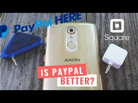 Paypal Here VS Square Card Reader Fees [Accepting Credit Card Payments on Your Mobile Phone]