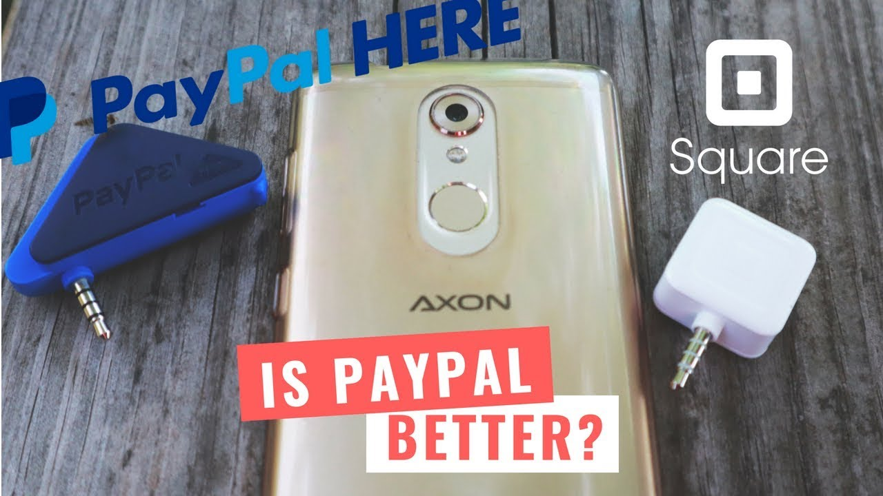 Paypal Mobile Card Reader >> Paypal Here VS Square Card Reader Fees [Accepting Credit ...