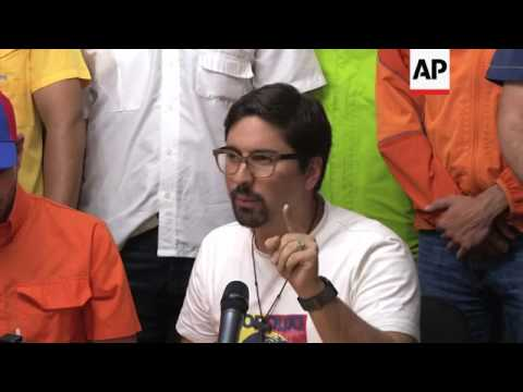 Venezuela opposition extends day of protest