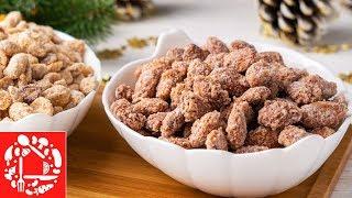 Самое вкусное Лакомство на Новый год 2020 Орешки в карамели