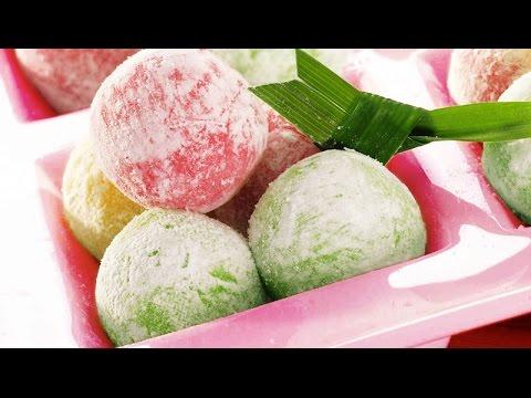 Resep Cara Membuat Mochi Isi Ice Cream Youtube